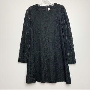 Michael Stars   Black Lace Mini Dress Sz 0 A-97